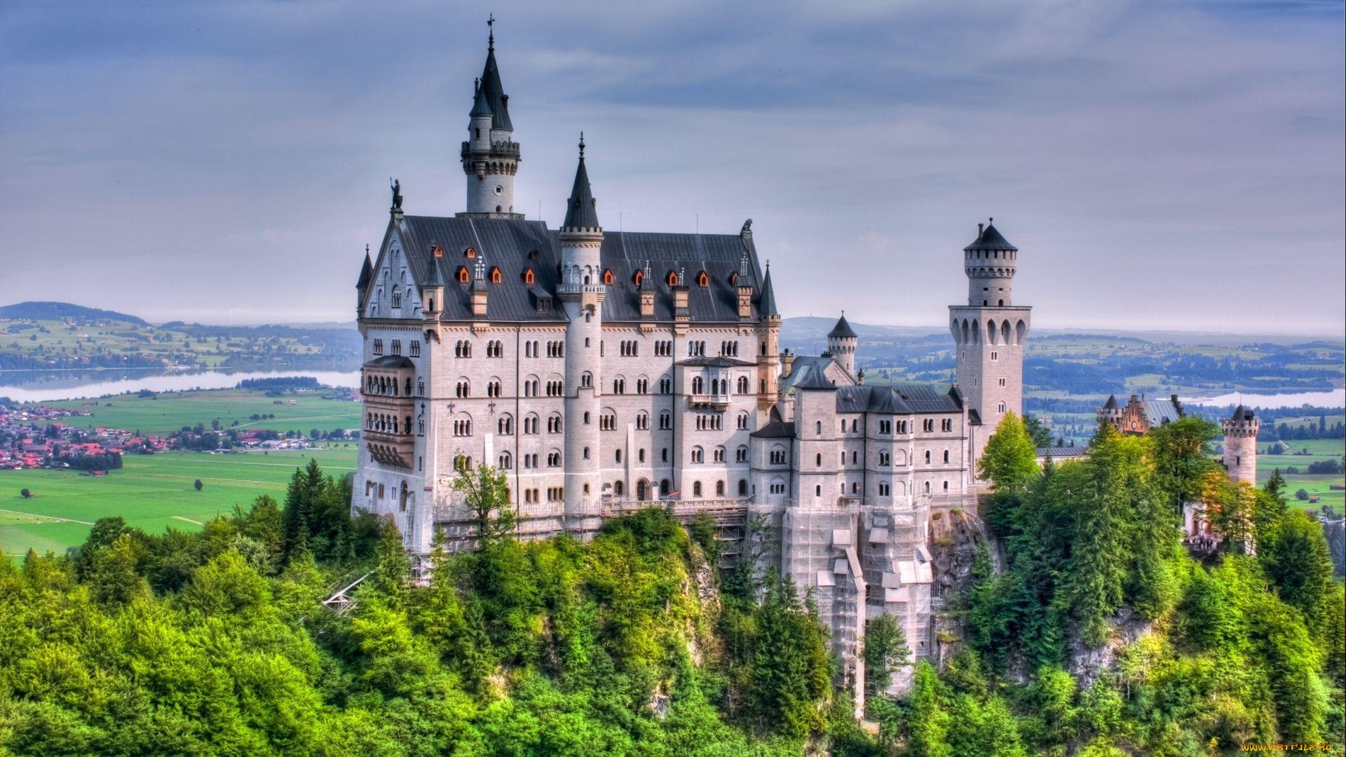 Картинки красивых замков на рабочий стол